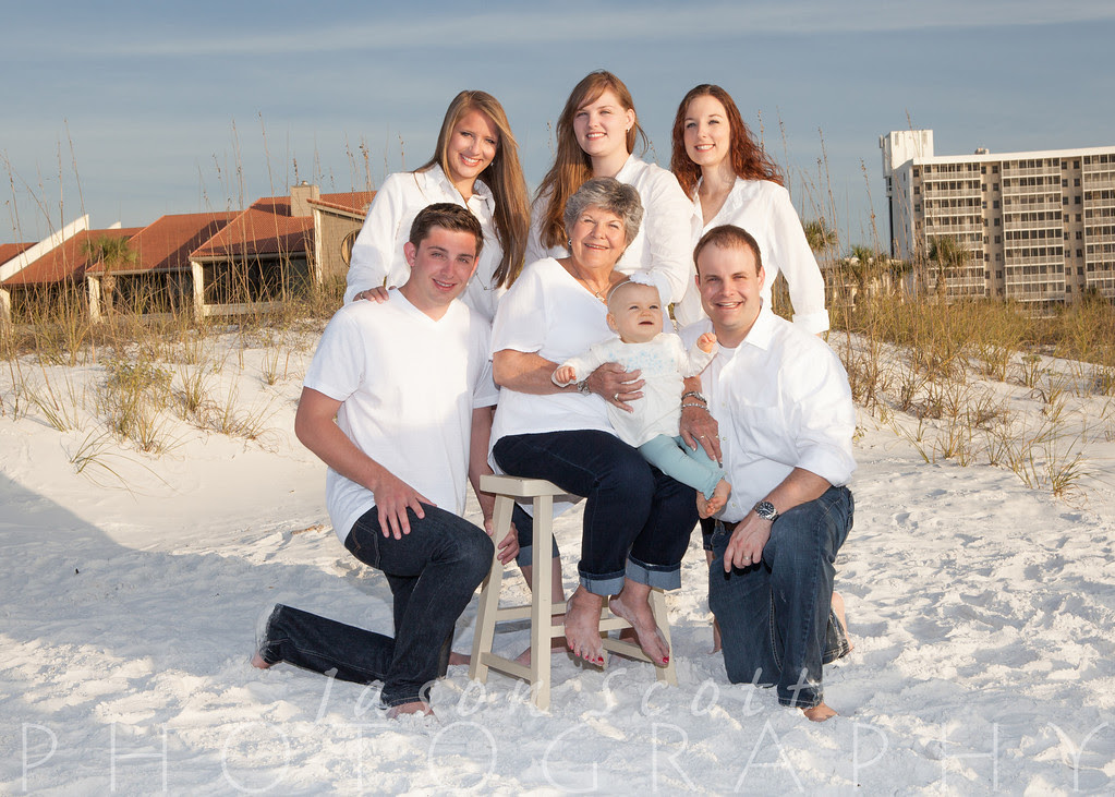 Ryan Family on Siesta Key, December 2012