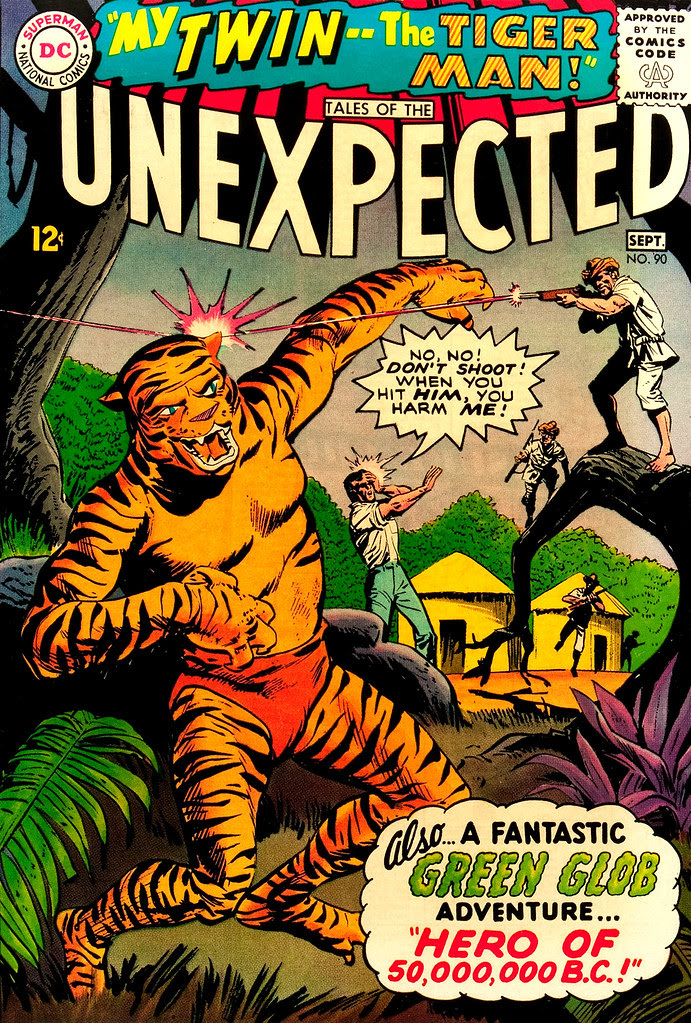 Tales of the Unexpected #90 (DC, 1965) Jack Sparling cover
