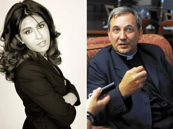 Francesca Immacolata Chaouqui, 33 anni e Lucio Angel Vallejo Balda, 54 anni
