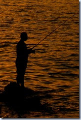 25 ribič pred Žusterno
