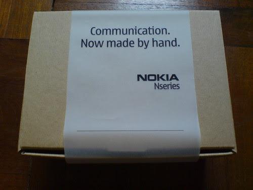 Nokia blogger event invitation