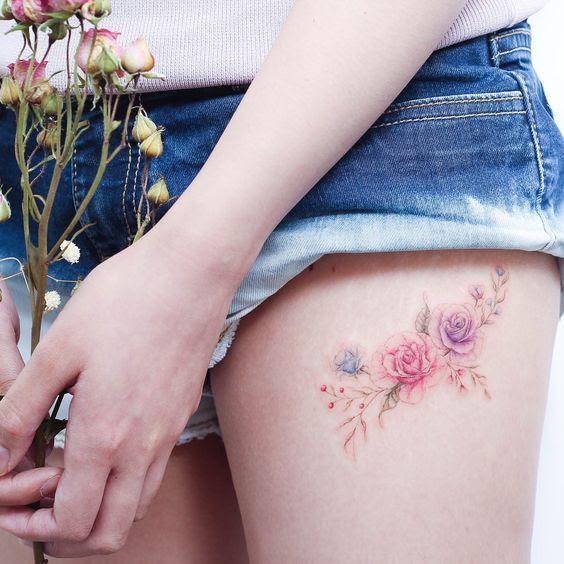 Tatuajes Elegantes Mujer Finest En Tatuantes Podrs Estar Al Da De