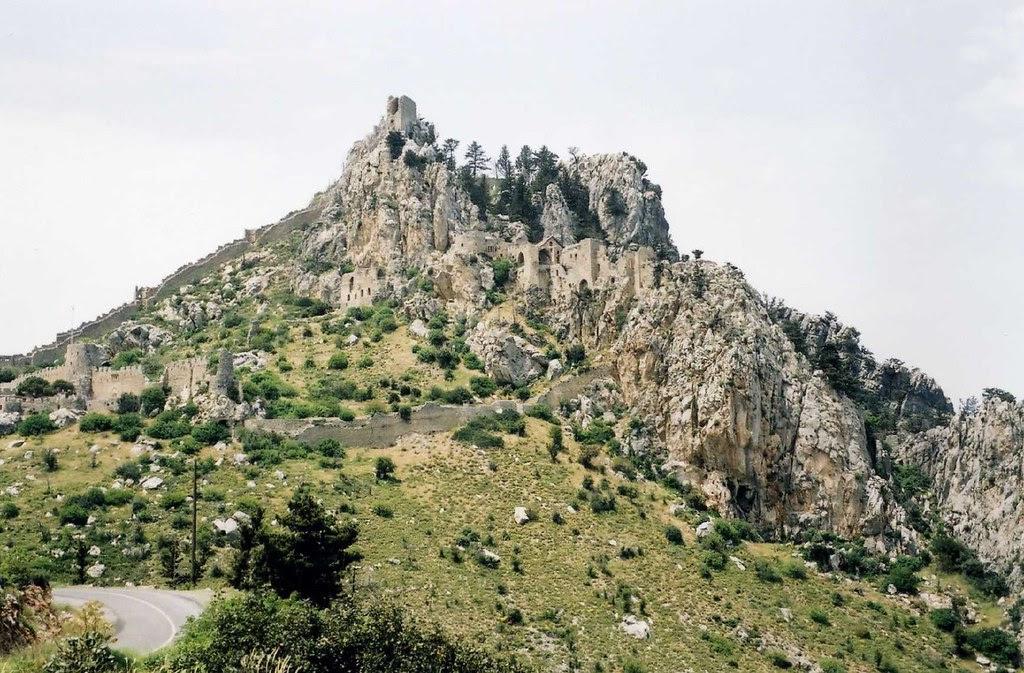 Saint Hilarion Castle, Girne, Northern Cyprus