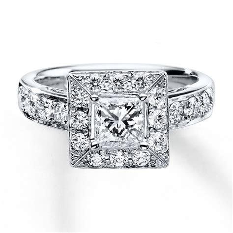 White Gold Necklace: Kay Jewelers Leo Diamond