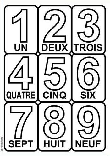 Chiffres Et Lettres à Colorier Le Ptit Matisse