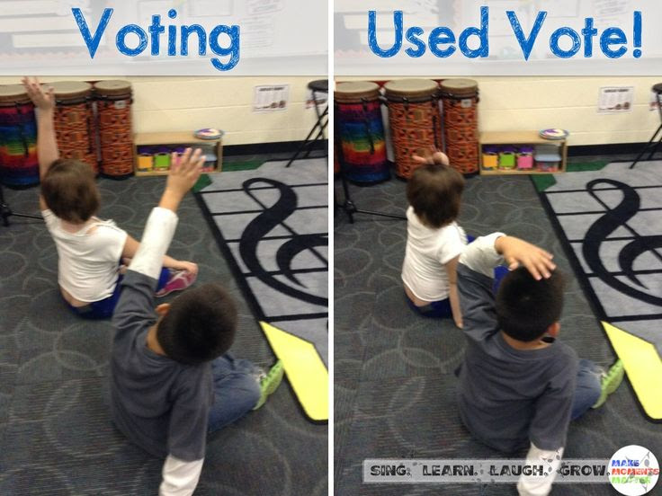 A Tiny Time Saver to help with class voting!