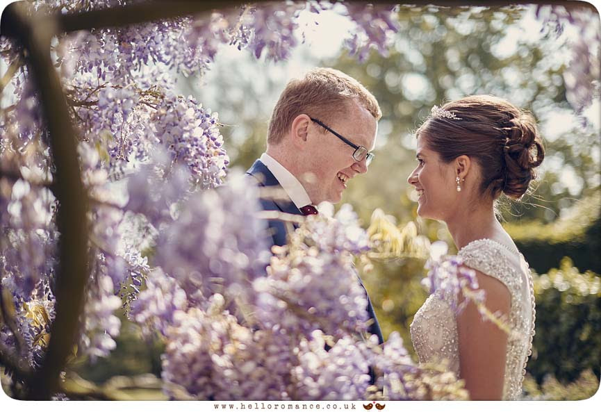 Beautiful wedding photo from Butley Priory, Suffolk - www.helloromance.co.uk