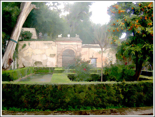 jardín granadino