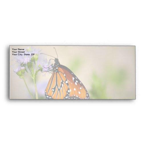 Download Beautiful Queen Butterfly Envelope | Zazzle
