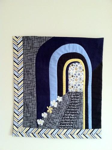 Madrona Road Mini Quilt