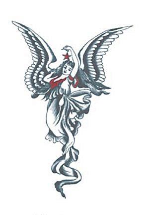 Angel Tattoo Gallery - Angel Tattoo Design - Angel Wings Tattoo