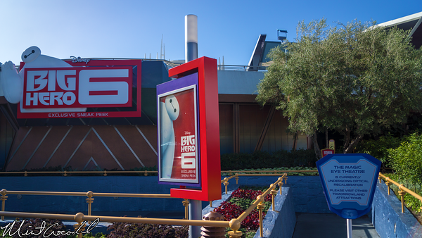 Disneyland Resort, Disneyland, Tomorrowland, Magic Eye Theater, Big, Hero, 6, Refurbishment, Refurbish, Refurb