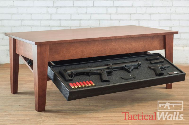 Best Gun Concealment Furniture to Secure Deadly Weapons
