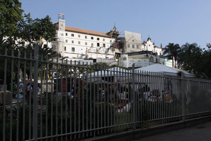Convento de Santo Antônio no Largo da Carioca