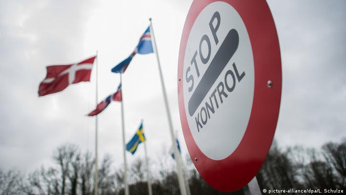 Deutschland Dänemark Grenze & Grenzkontrollen (picture-alliance/dpa/L. Schulze)