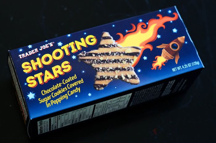 trader joe's shooting stars cookies review : part of a weekly #traderjoes review series