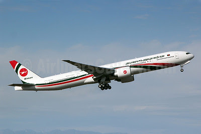 Biman Bangladesh Airlines Boeing 777-3E9 ER S2-AFO (msn 40122) PAE (Nick Dean). Image: 907328.