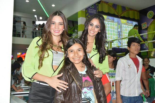 La Miss Universo Paraguay 2013 Guadalupe González en la EXPOCRUZ 2013