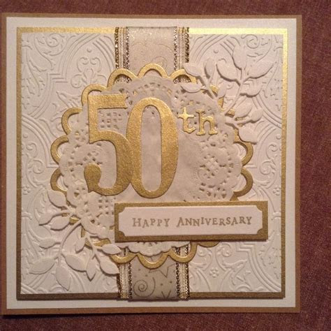17 Best ideas about 50th Anniversary Cards on Pinterest