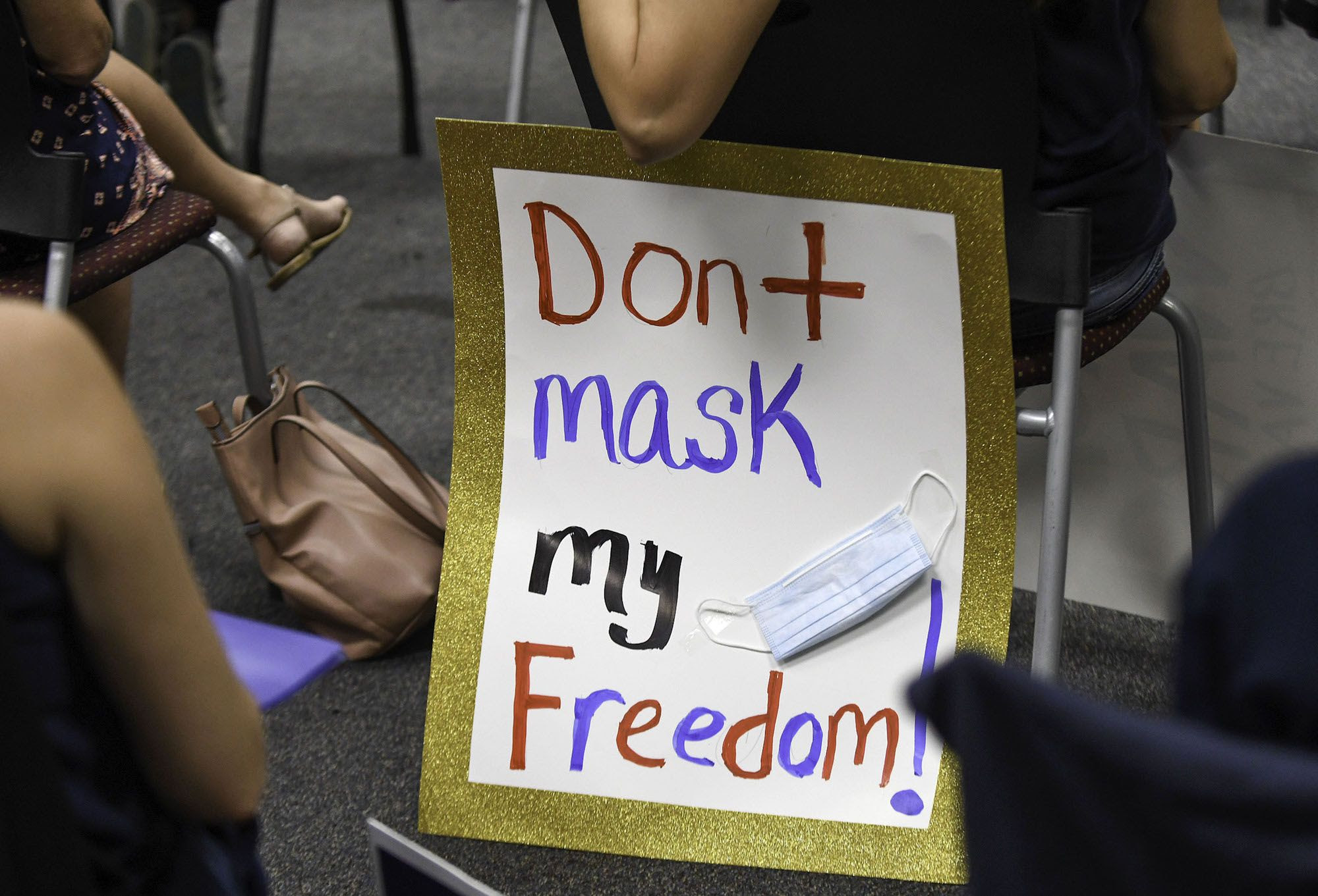Mask Protests at School Board Meetings Are Part of Larger Assault on Public Education