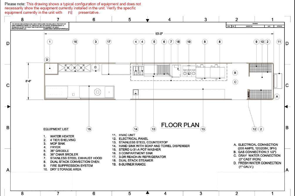 Commercial Kitchen Floor Plan - Inspirational Kitchen Decor Ideas