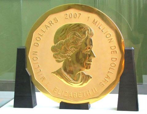 Αποτέλεσμα εικόνας για 2007 Queen Elizabeth II Million Dollar Coin