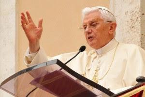 Palavras de Bento XVI antes do seu último Ângelus como Papa