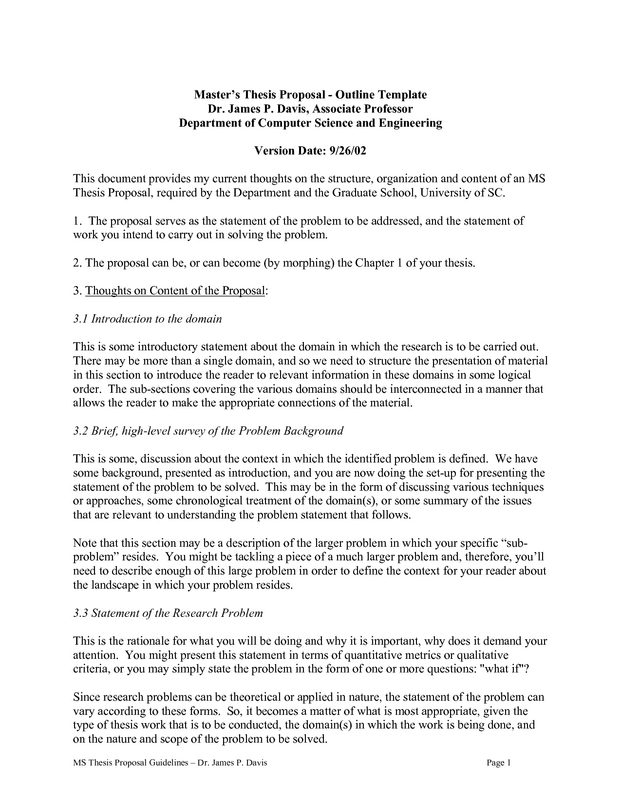 how to write a thesis statement for a proposal essay