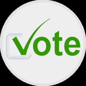 Vote Button Clip Art