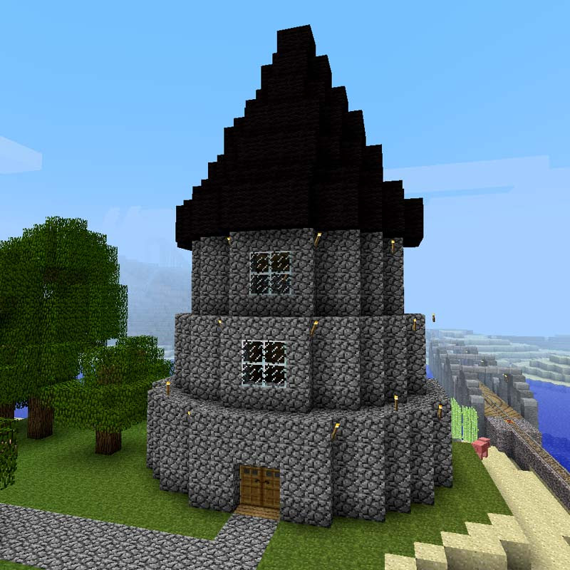 Minecraft Castle Roof Designs The Expert