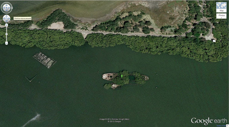 shipwreck-forest google earth