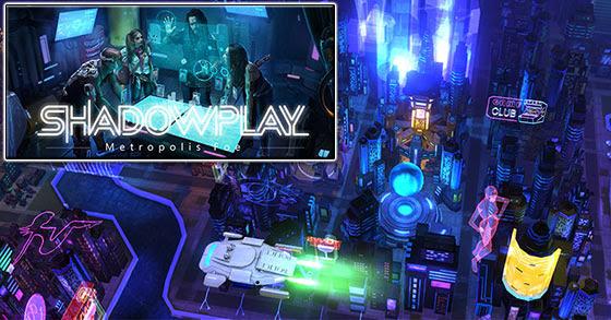 "The cyberpunk card battler ""Shadowplay: Metropolis Foe"" is coming to PC in 2020"