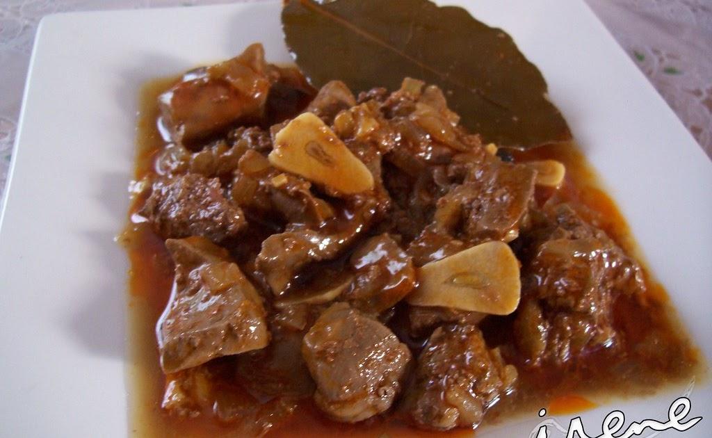 La cocina casera de irene higado en salsa de cebolla for La cocina casera