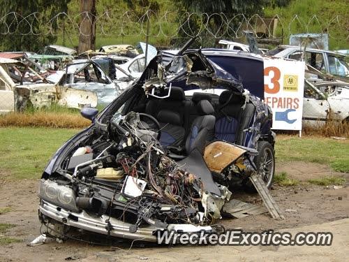 Bmw E39 Crash Test
