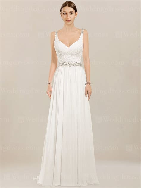Chiffon Beach Wedding Dress £153