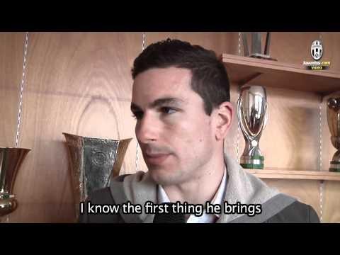 Padoin, la prima intervista in bianconero