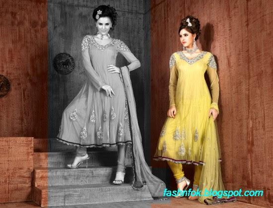 Anarkali-Fancy-Bridal-Wedding-Wear-Frocks-Dress-New-Fashionable-Designs-Collection-7