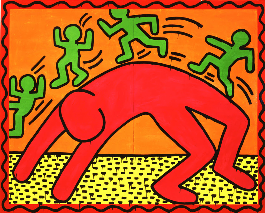 Bodies In Motion Inspired By Keith Haring