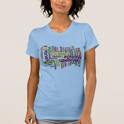 Motivational Words #1 - Positive Attitude T-shirt