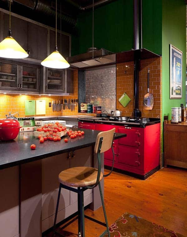 Incredible industrial style loft apartment in NoHo