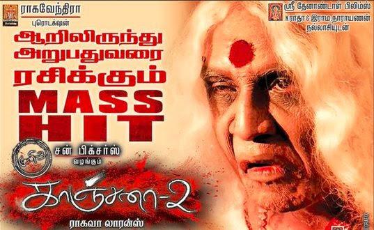 Kanchana 2 box office, mints 40 crores in 10 days