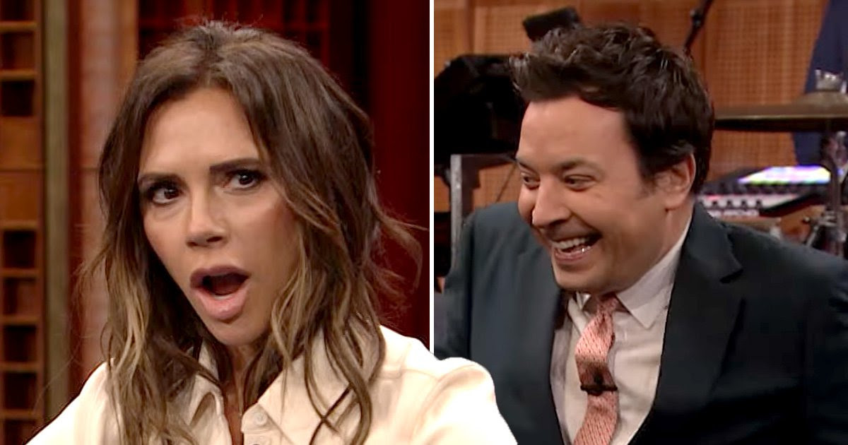 Victoria Beckham left shaking with fear during Jimmy Fallon appearance