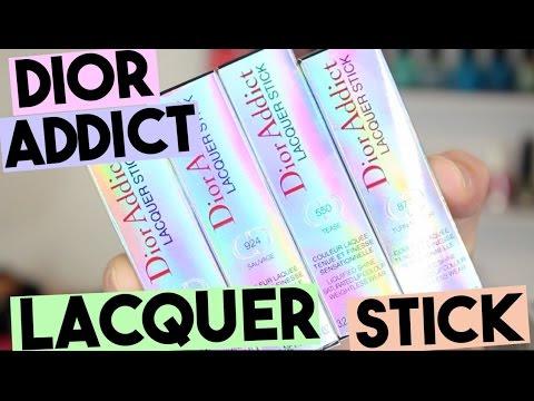 Dior Addict Lacquer Stick (Dior Spring 2017)