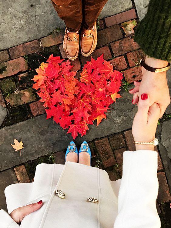 schöne maple leaf Herz sieht Fett und liebenswert, was kann niedlicher