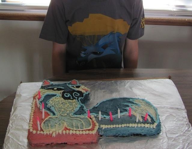 Animal Jam Epic Wolf Cake!