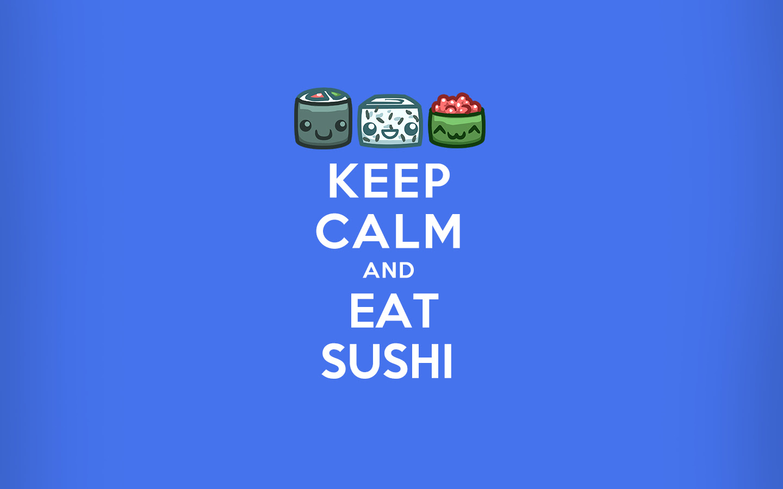 Sushi Cat Wallpaper