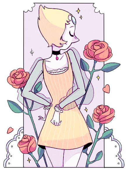 My Pearl… Ugh, must stop drawing Steven Universe :'-( So addicted!