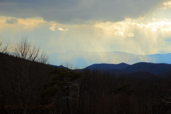 Heavenly Snow Shenandoah Mountains