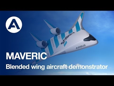 Airbus MAVERIC: avião conceito