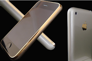 24ct Gold iPhone Goldeneye Edition